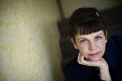 Birgitta Jónsdóttir ist die Parteivorsitzende von The Movement