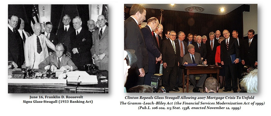 Glass-Steagall-Signing-Repeal